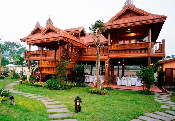 The perfect venue for thai traditional wedding ceremony for Thailand houses pictures